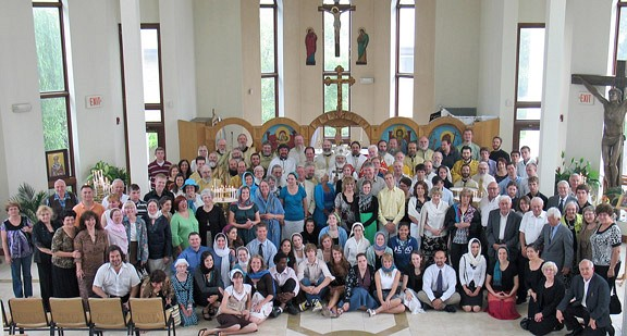 All who attended the 34th Annual Diocesan Convention, The Popadias & Deaconissas Concerence and the My Life In Christ Youth Conference